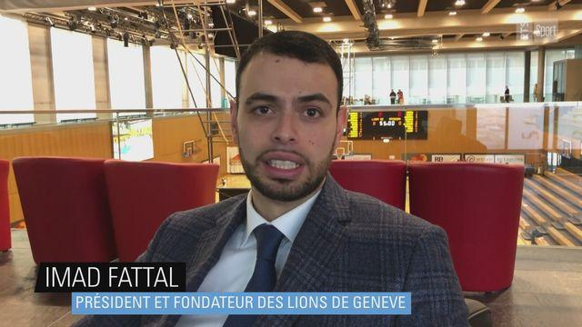 Imad Fattal (président des Lions de Genève): ''J'ai toujours la même passion'' [RTS]