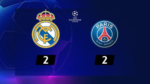5e j. Gr.A, Real - Paris-SG  (2-2): résumé de la rencontre
