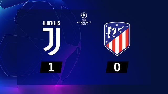 5e j. Gr.D, Juventus - Atlético Madrid (1-0): résumé de la rencontre
