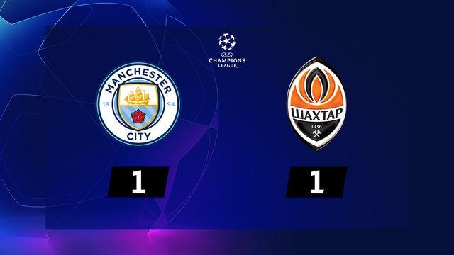 5e j. Gr.C, Manchester City - Shakhtar (1-1): résumé de la rencontre