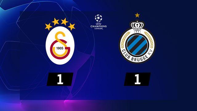 5e j. Gr.A, Galatasaray - FC Bruges (1-1): résumé de la rencontre