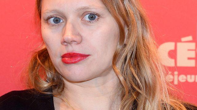 La réalisatrice Lucie Borleteau lors de la cérémonie des Césars à Paris. [Alain Jocard - AFP]