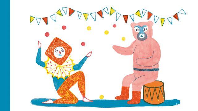 """La couverture du livre """"Marietta, l'ours et le cavalier"""" de S. Corinna Bille.  [La Joie de Lire]"""