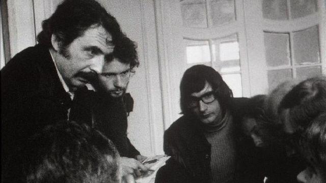 Alain Tanner à Cannes en 1971. [RTS]