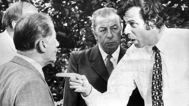 """L'invitation"", un film de Claude Goretta avec Jean-Luc Bideau. [RTS]"