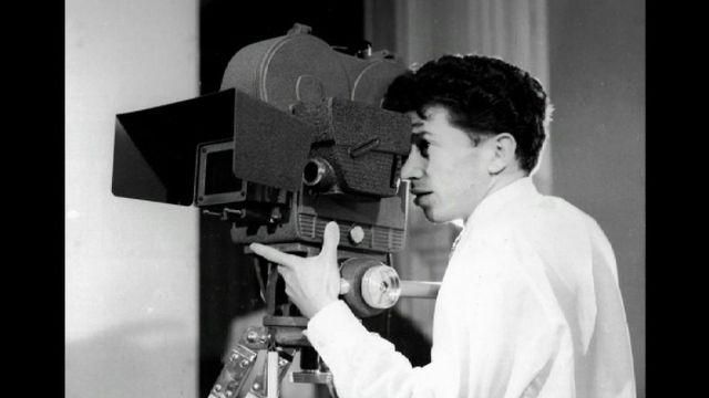 Le réalisateur Jean-Jacques Lagrange dans les années 50. [RTS]