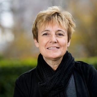 La conseillère nationale socialiste vaudoise et médecin Brigitte Crottaz. [Jean-Christophe Bott - Keystone]