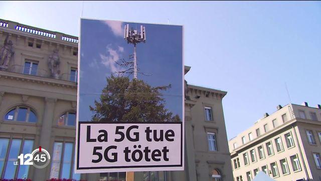 La 5G: des initiatives et des manifestations nationales contre de nouvelles antennes. Hans-Ulrich Jakob se bat depuis des années [RTS]