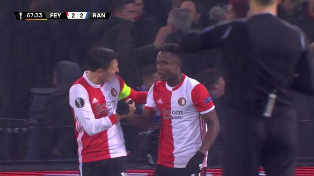 5ème journée, Feyenoord - Rangers (2-2): les hommes de Steven Gerrard repartent avec un bon match nul [RTS]