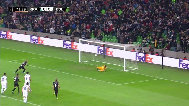 5ème journée, Krasnodar - Bâle (1-0): défaite sans conséquence pour les Rhénans [RTS]
