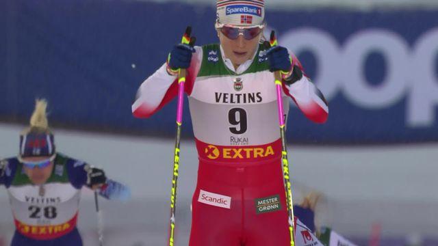 Sprint dames, 1-4 de finale: Nadine Fähndrich (SUI) 3ème de sa série [RTS]