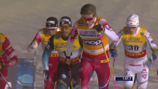 Sprint messieurs: la victoire pour Johannes Klaebo (NOR) [RTS]