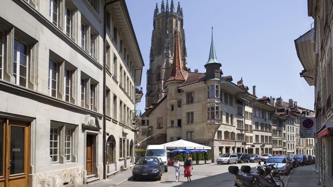 Le canton de Fribourg est le meilleur dans la gestion des finances publiques. [Martin Ruetschi - Keystone]