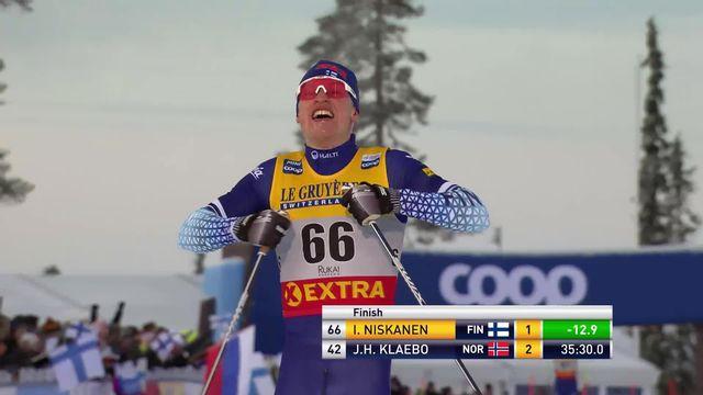 15km messieurs: Iivo Niskanen (FIN) au-dessus du lot [RTS]