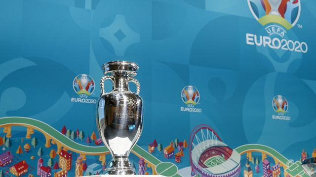 La coupe de l'Euro 2020. [Salvatore Di Nolfi - Keystone]