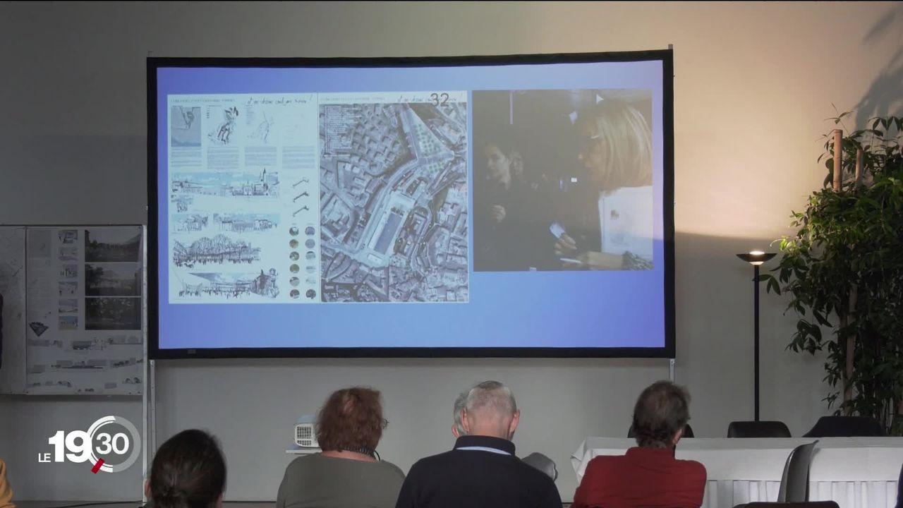 Lausanne veut se réinventer. Des transformations que la ville fait avec la population avec un concours international d'idées. [RTS]