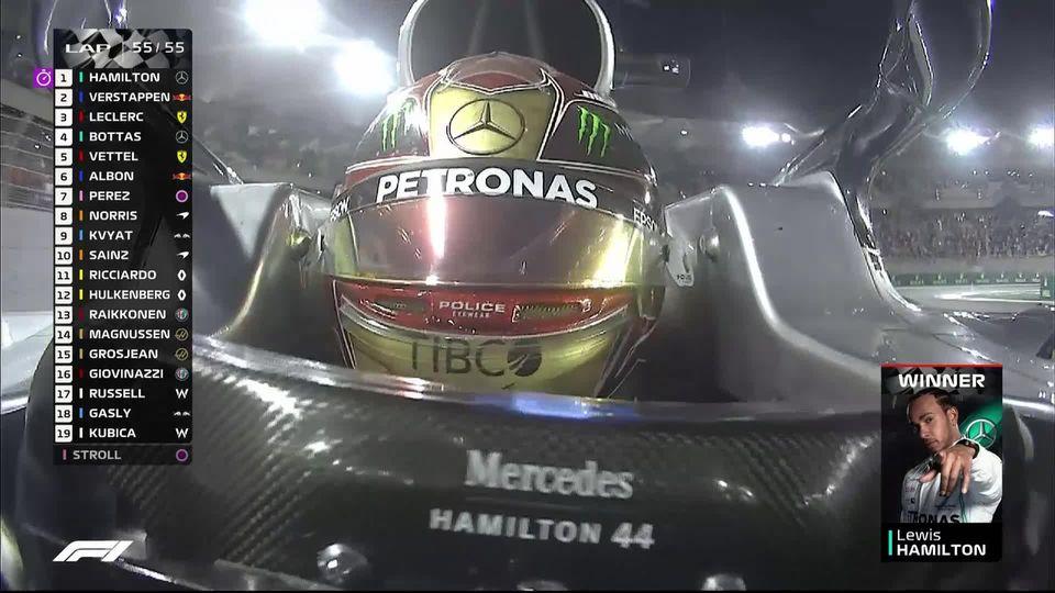 GP des Emirats Arabes Unis (#21): Hamilton (GBR) clôt la saison en beauté [RTS]