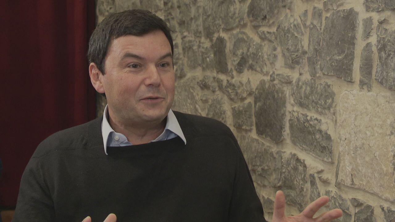 """Thomas Piketty: """"La Suisse doit davantage partager ses richesses"""" [RTS]"""