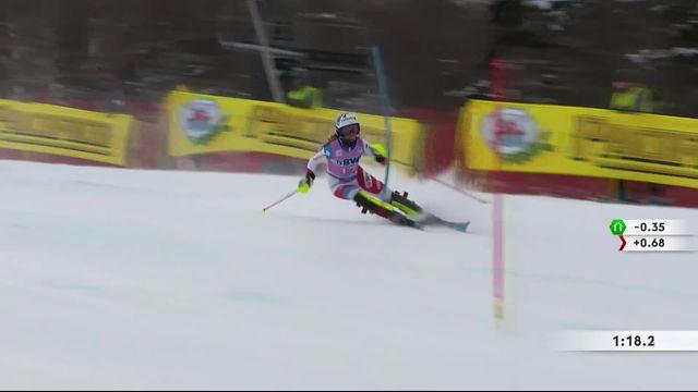 Killington (USA), slalom dames: Aline Danioth (SUI) [RTS]
