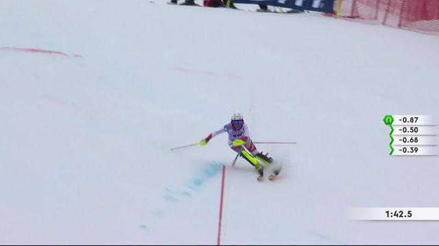 Killington (USA), slalom dames: Charlotte Chable (SUI) [RTS]
