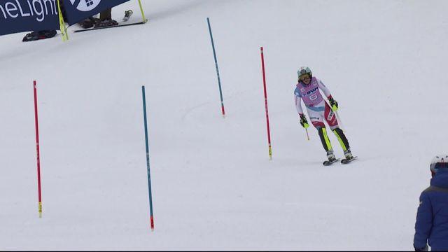 Killington (USA), slalom dames: Wendy Holdener (SUI) enfourche la 2e porte et se retrouve éliminée [RTS]