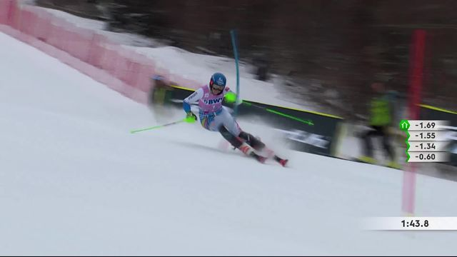 Killington (USA), slalom dames: Petra Vlhova (SVK) 2e [RTS]
