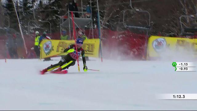 Killington (USA), slalom dames: Mikaela Shiffrin (USA) imbattable aujourd'hui [RTS]