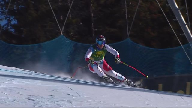 Lake Louise (CAN), Super G messsieurs: Beat Feuz (SUI) [RTS]