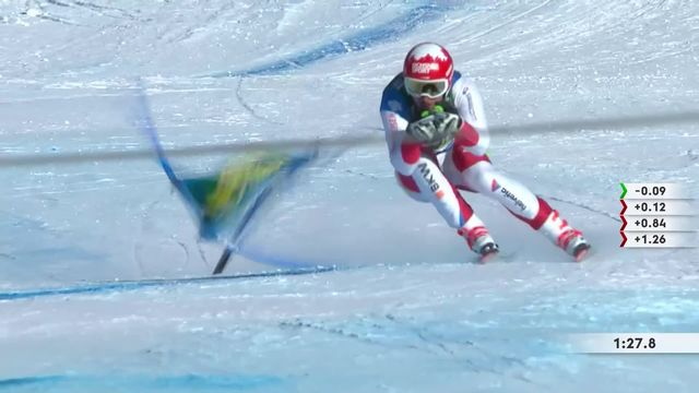 Lake Louise (CAN), Super-G messsieurs: Carlo Janka (SUI) [RTS]