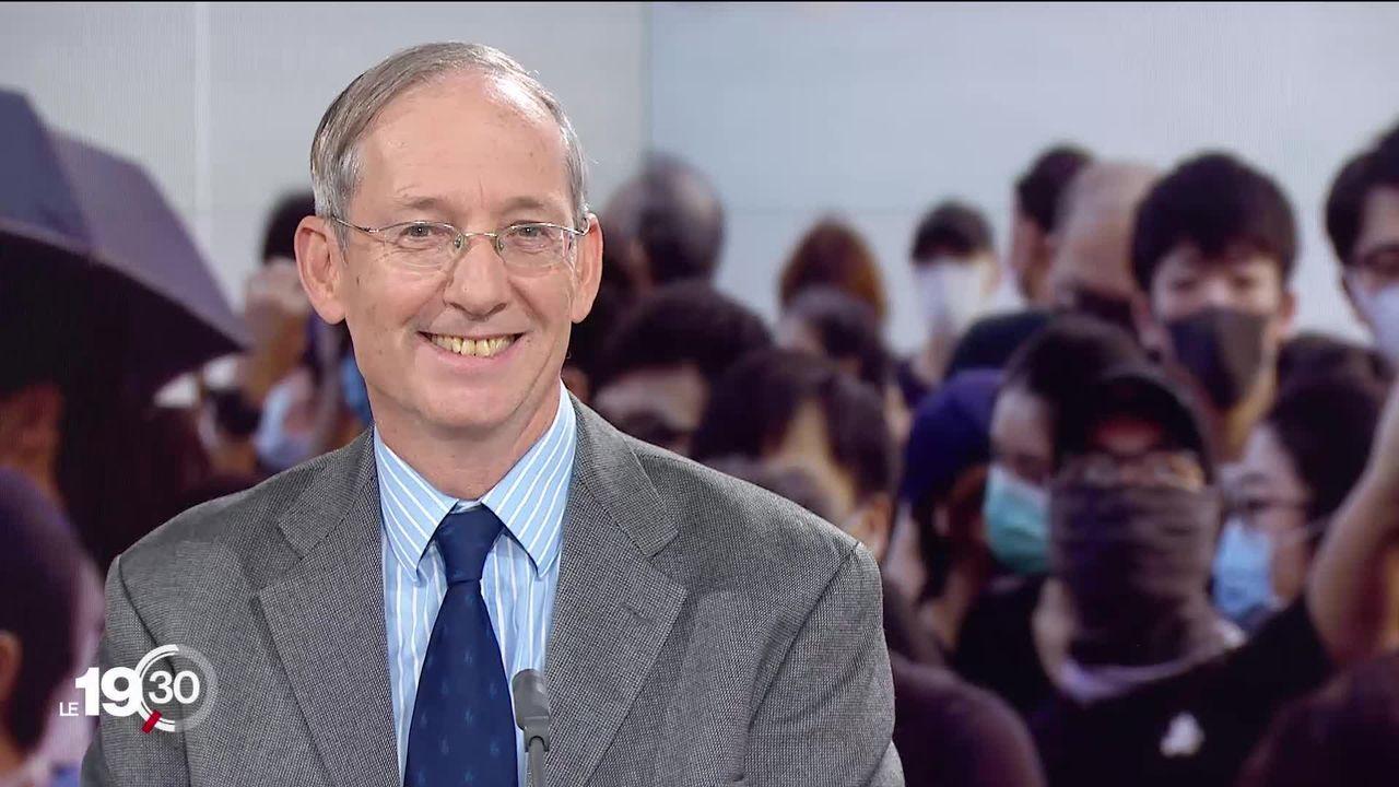 Hong Kong: les précisions de Jean-Pierre Cabestan, professeur à l'Université baptiste de Hong Kong [RTS]