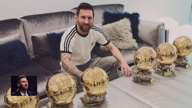 Ballon d'Or: Lionel Messi remporte le Ballon d'Or pour la 6e fois! [RTS]