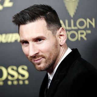 Messi lors de la cérémonie du Ballon d'Or [YOAN VALAT - Keystone]