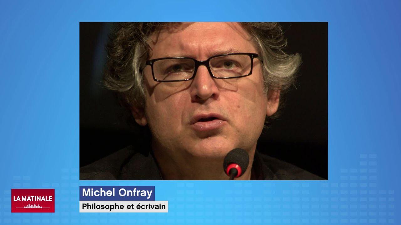 L'invité de La Matinale (vidéo) - Michel Onfray, philosophe français [RTS]