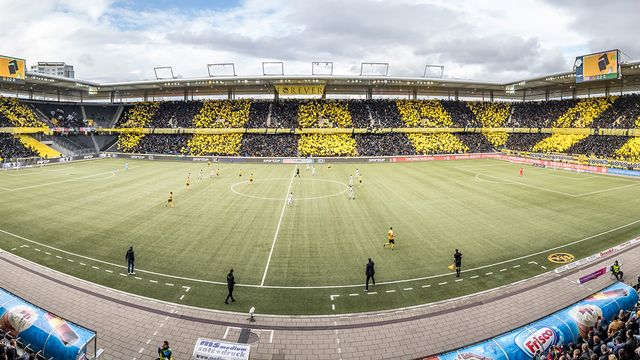 Le Stade de Suisse laisse sa place au Wankdorf. [Twitter - YB - Keystone]