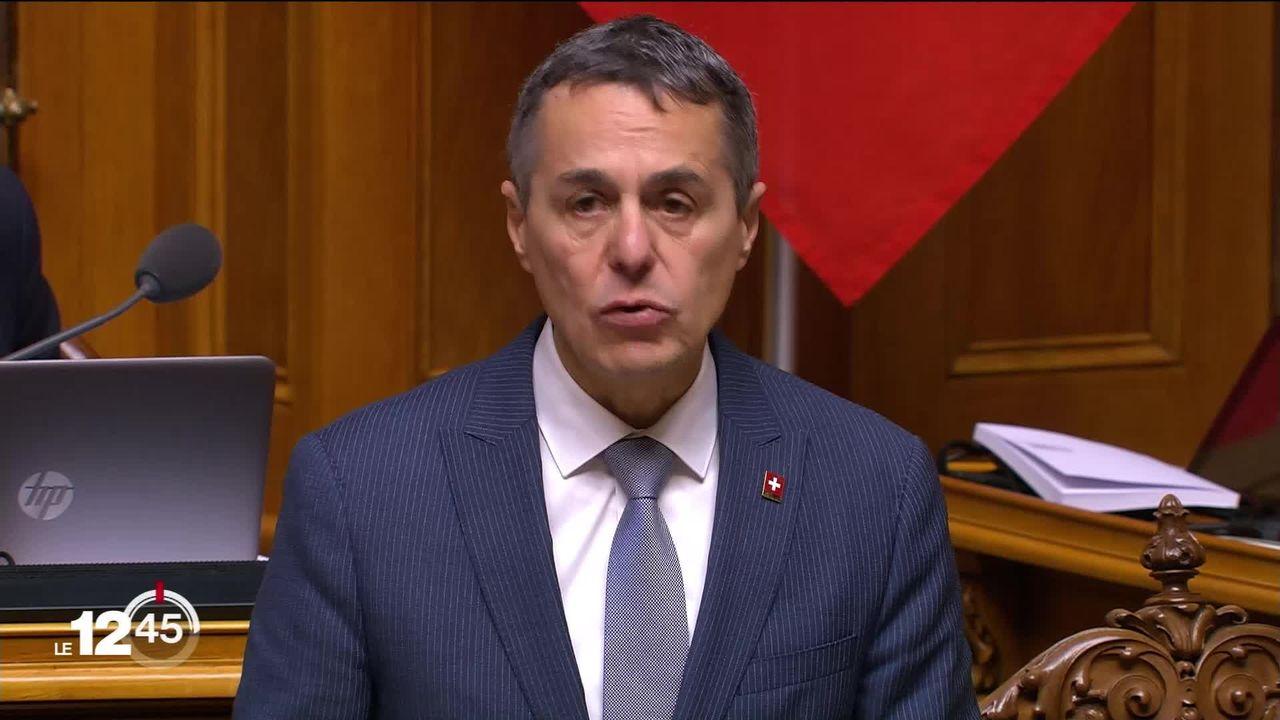 La Suisse versera à l'UE, sur 10 ans un nouveau milliard de francs pour la solidarité et la cohésion. Mais sous conditions. [RTS]