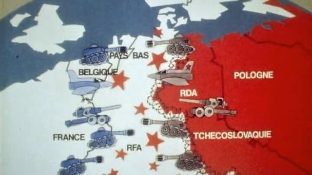 Le Pacte de Varsovie contre l'OTAN. [RTS]