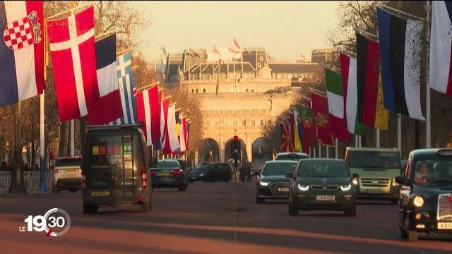 L'OTAN célèbre son 70e anniversaire à Londres, avec un sommet sous haute tension. [RTS]