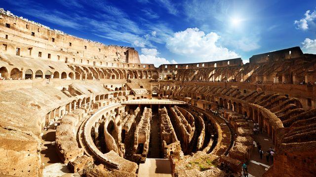 Le Colisée de Rome aujourd'hui, un lieu qui a vu s'affronter de nombreux gladiateurs. Iakov Depositphotos [Iakov - Depositphotos]