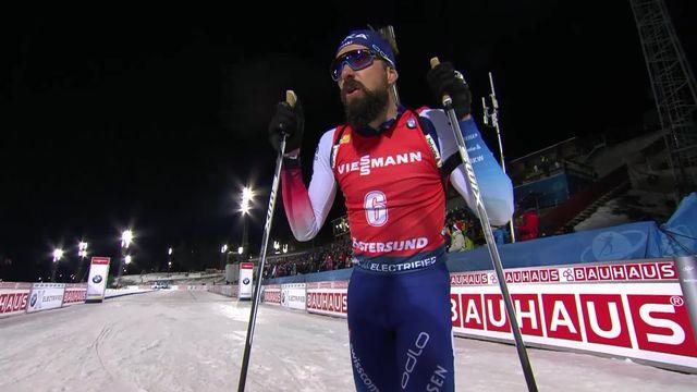 Östersund (SWE), 20km messieurs: 5e place pour Benjamin Weger (SUI) [RTS]