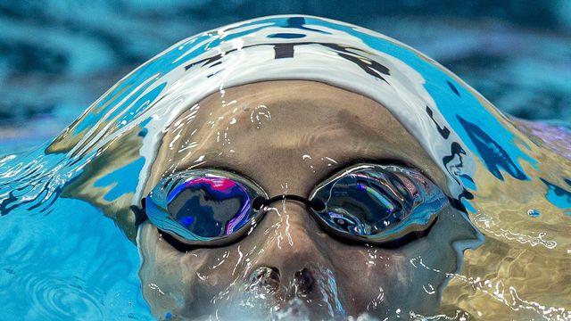 Maria Ugolkova pendant le 200m [PATRICK B. KRAEMER - Keystone]