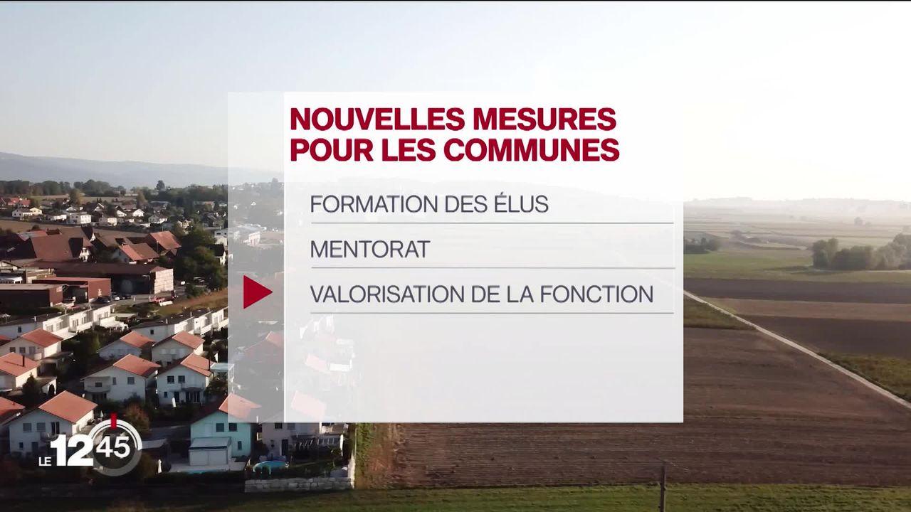 Le Conseil d'Etat fribourgeois prend des mesures pour rendre la fonction d'élu communal plus attractive [RTS]