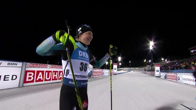 Östersund (SWE), 15km dames: victoire de Justine Braisaz (FRA) [RTS]