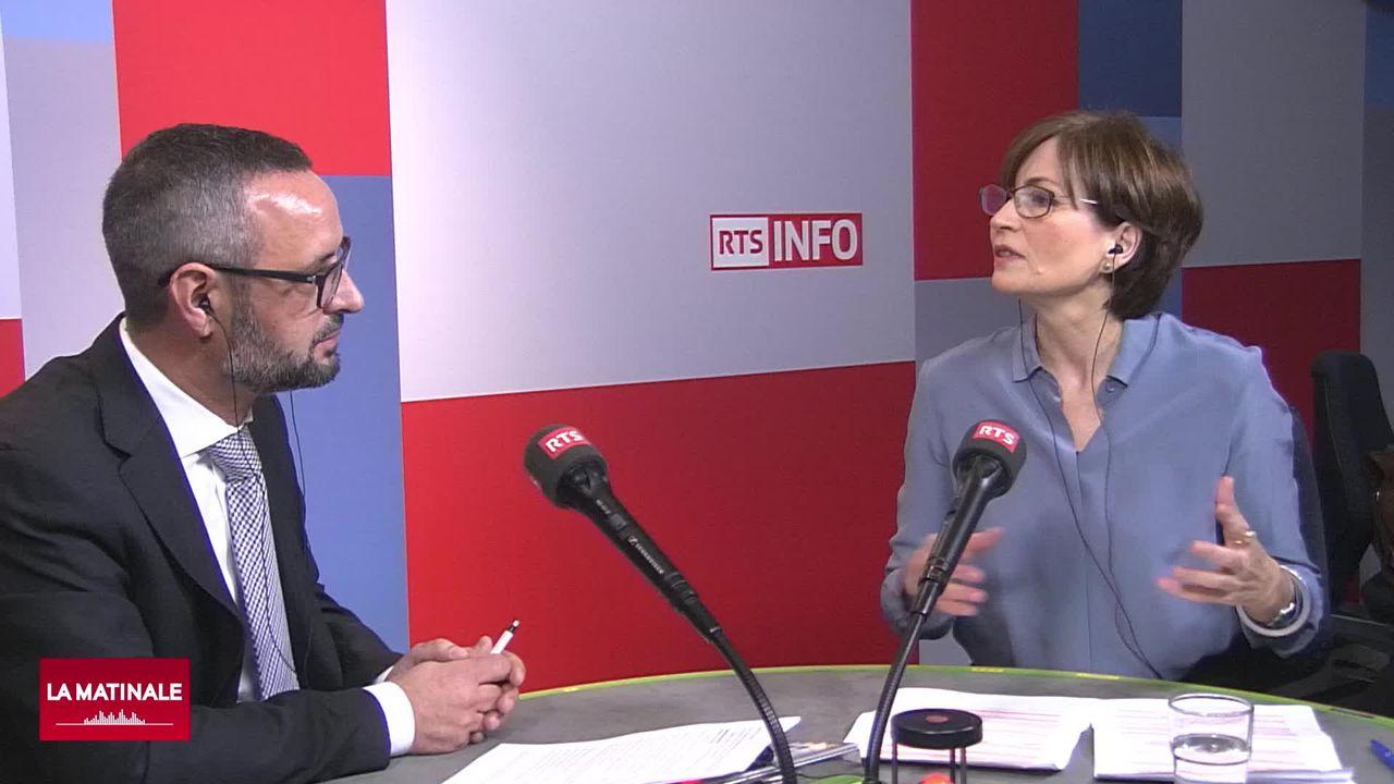 L'invitée de La Matinale (vidéo) - Regula Rytz, présidente des Verts suisses, candidate au Conseil fédéral [RTS]