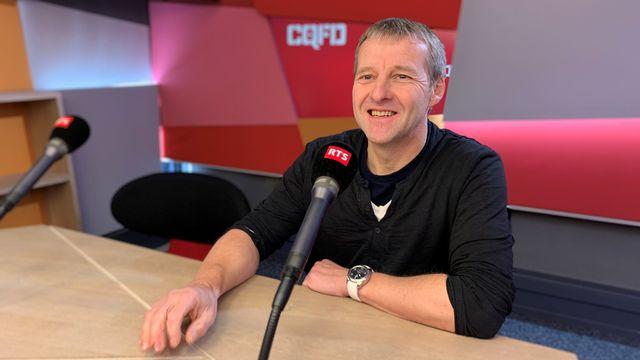 Fabien Langenegger, responsable du Laboratoire de dendrochronologie du canton de Neuchâtel. Stéphane Gabioud RTS [RTS]
