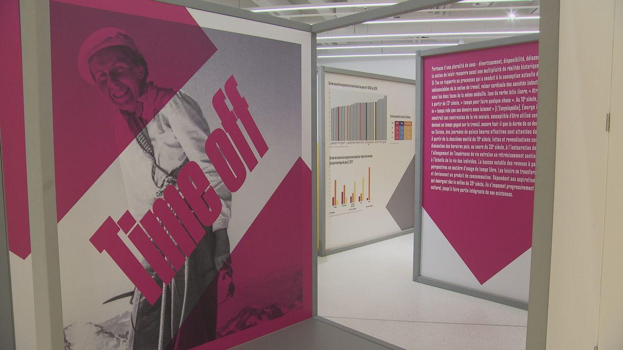 """L'exposition """"Time off"""" au Musée historique de Lausanne. [DR - RTS]"""