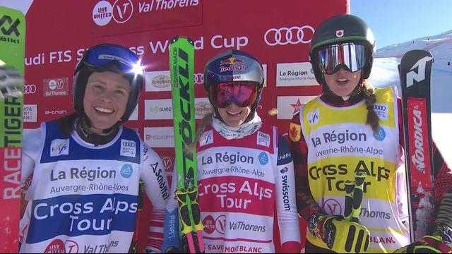 Val Thorens (FRA), petite finale dames: Fanny Smith remporte la petite finale et se classe 5e [RTS]