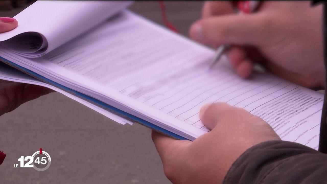 Le parti socialiste neuchâtelois dénonce les méthodes de récolte de signatures contre le congé paternité de 2 semaines [RTS]