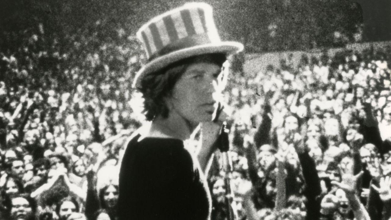 "Une image extraite du documentaire ""Gimme Shelter"" (1970). [Gimme Shelter - Janus Films]"