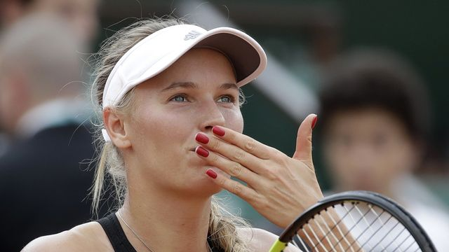 La Danoise s'apprête à tourner la page du tennis. [Alessandra Tarantino - Keystone]