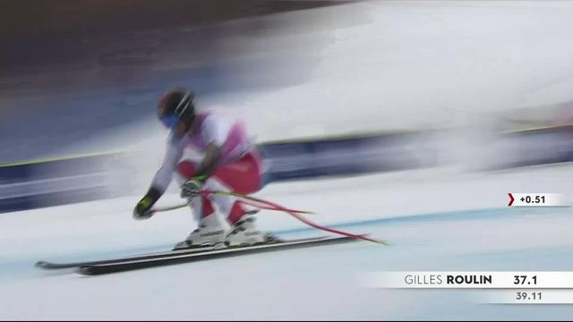 Beaver Creek (USA), Super G messieurs: Gilles Roulin (SUI) [RTS]